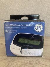 Ge Call Waiting Caller Id 70 Name And Number Memory 29096Ge1