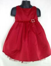 Gymboree Girls Sz 2T Holiday Classics '07 Christmas Dress Satin Tulle Red