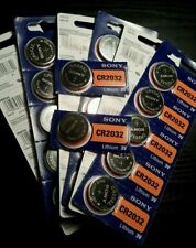 1 x Sony cr2032 3V Lithium Battery Super Fresh Exp 2027 Coin Cell Scale Watch Us