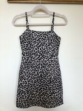 Pull and Bear BRAND NEW Leapord Print Mini Dress Size S