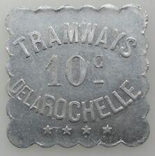 France jeton La Rochelle Tramways 10 centimes