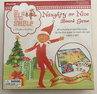 Elf on the Shelf naughty or Nice board game New sealed pressman