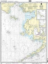 NOAA Chart Passamaquoddy Bay St Croix River Beaver Harbor St Andrews Todds Point