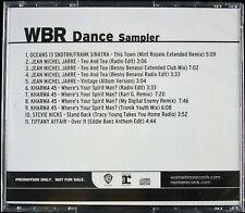 WBR DANCE SAMPLER 2007 CD PROMO COMPILATION PRO-CDR-102051 ~RARE~ *SEALED*