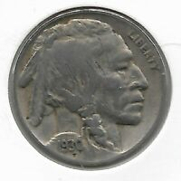Rare Old Antique Vintage 1930 US Buffalo Indian Nickel Collection Coin LOT B34