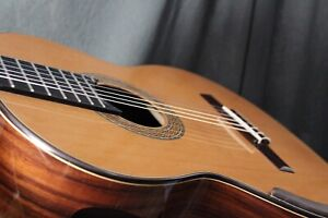 William Falkiner lutherie Concert classical guitar.