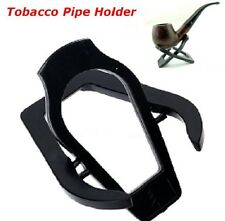 New Portable Black Acrylic Pipe Stand Desk Table Accént Folding Smoking Tool