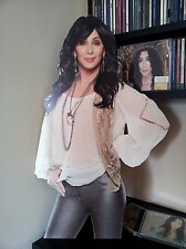 Cher Display STAND Standee NEW Dressed to Kill Closer to the Truth d2k Tour