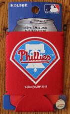 Philadelphia Phillies Beer or Soda Koozie Cooler Coolie Huggie