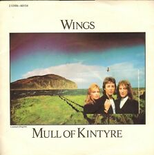 WINGS (PAUL McCARTNEY) - Mull of Kintyre  (1977 VINYL SINGLE 7' FRANCE)