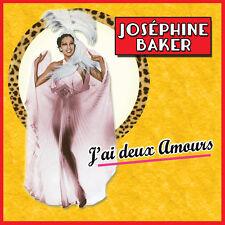 CD Joséphine Baker : J'ai deux amours / 26 chansons