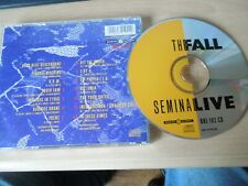 The Fall - Seminal Live CD. Beggars Banquet ‎– BBL 102 CD No front cover. 1989