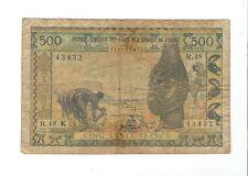 West Africa - Senegal - 500 Francs  1959-65