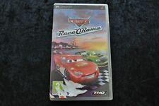 Disney Pixar Cars Race O Rama Sony PSP Geen Manual
