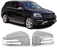 2 Cover coprispecchi Specchi in abs cromo  Mercedes Benz W166 GLE  ML dal 2012>