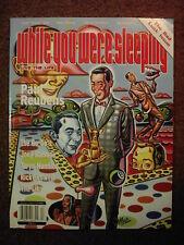 WYWS #13 graffiti magazine- Ricky Powell*GO-GOs*Daniel Johnston*SOPE*Joey Ramone