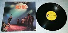 AC/DC LET THERE BE ROCK LP record 1st press