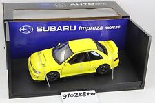 AUTOart 1:18 scale Subaru Impreza WRX Type R GC8(Yellow) 78611 RARE/NEW IN BOX