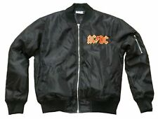 AC/DC World Tour 1981 Kids Youth Puff Jacket Coat Small New Official Reissue