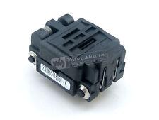 28QN65T16060 Plastronics QFN28 MLP28 MLF28 IC Test Socket Adapter 0.65mm Pitch
