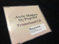 ARCTIC MONKEYS My Propeller ULTRA RARE PROMO DJ radio CD single 2010 Promo