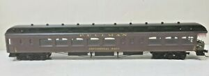 Pullman Railroad Tail End Observation Car 'Continental Hall' Roundhouse HO Scale