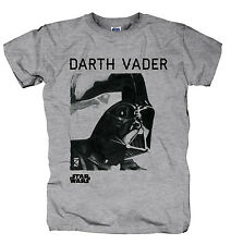 T-shirt Homme Dark Vador Retro - Gris - Taille L Large