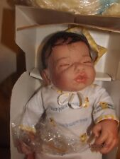 PARADISE GALLERIES TREASURY COLLECTION GENTLE TOUCH NEWBORN DOLL WILLIAM