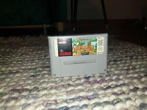 The Humans Super Nintendo SNES Cartridge PAL VGC