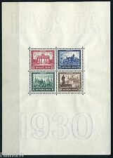 Dt. Reich IPOSTA Block 1930** Block 1 geprüft (S9637)