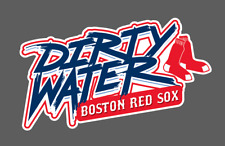 Boston Red Sox Dirty Water Wall Decal 25x14.5