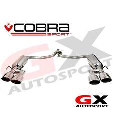 ME11 Cobra Mercedes C Class W204 C200 Diesel 07-13 AMG Style Quad Exit Exhaust