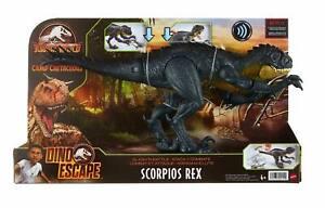 BNIB Dino Escape Scorpius Rex Jurassic World Slash Battle Dinosaur