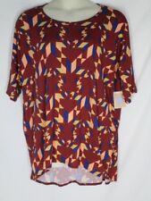 NWT Lularoe Irma Top Shirt Tunic 2XL 2X Fall Colors NEW