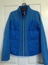 Lululemon Blue St Moritz Fleece Jacket Size CAN 12 Like New