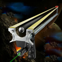 Retractable Infrared Laser Slingshot 75cm Hunting Catapult Fishing Archery Sport