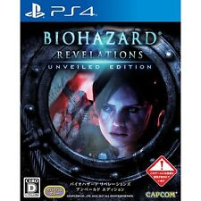 BioHazard Revelations Unveiled Edition  SONY PS4 PLAYSTATION 4 JAPANESE VERSION