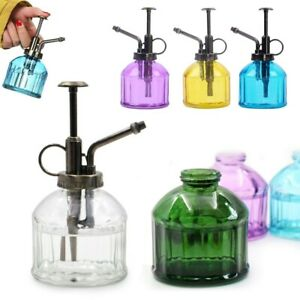 200ml Glass Atomiser Plant Mister Indoor Watering Can House Water Spray Bottle