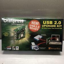Orange USB 2.0 Hi Speed PCI Card for Desktop / 70USB90010