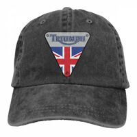 Triumph Motorcycles Logo cowboys Snapback Baseball Hat Adjustable Cap