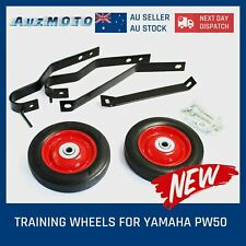 Motorcycle Training Wheels Set for Yamaha Pw50 PW PY 50 G50t Pee Wee Rear Side