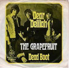 7inch THE GRAPEFRUIT dear delilah GERMAN EX