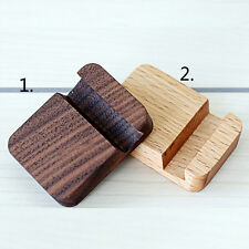 Universal Wooden Mobile Phone Holder Stand Mobile Phone Desk Stand Accessories