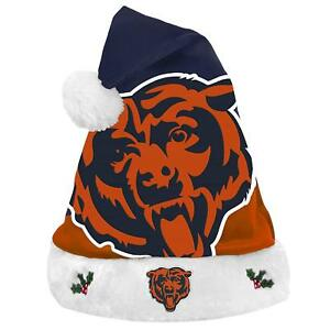 NFL Chicago Bears 2018 Style Basic Santa Hat by Forever Collectibles