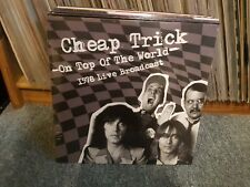 Cheap Trick  – On Top Of The World - 1978 Live Broadcast (Album) (2LP)