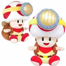 Super Mario Bros. Series Sitting Captain Toad Plush Doll Toy 7Inch Great Gift
