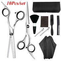 Hair Cutting Scissors Shears Thinning Set Hairdressing Salon Professional Barber