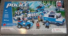 Police Station BricTek Building Block Construction Toy Brick