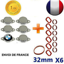 6x Bouchons Clapet D'admission 33mm joints BMW E46 E90 E91 E92 E60 X3 X5