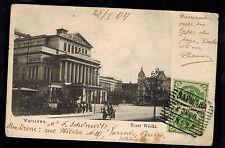 1904 Warsaw Poland Russia RPPC Postcard Cover to Papeete Tahiti